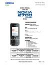 pdf/phone/nokia/nokia_2700c,_nokia_2700c-2_rm-561_service_manual-1,2_v2.0.pdf